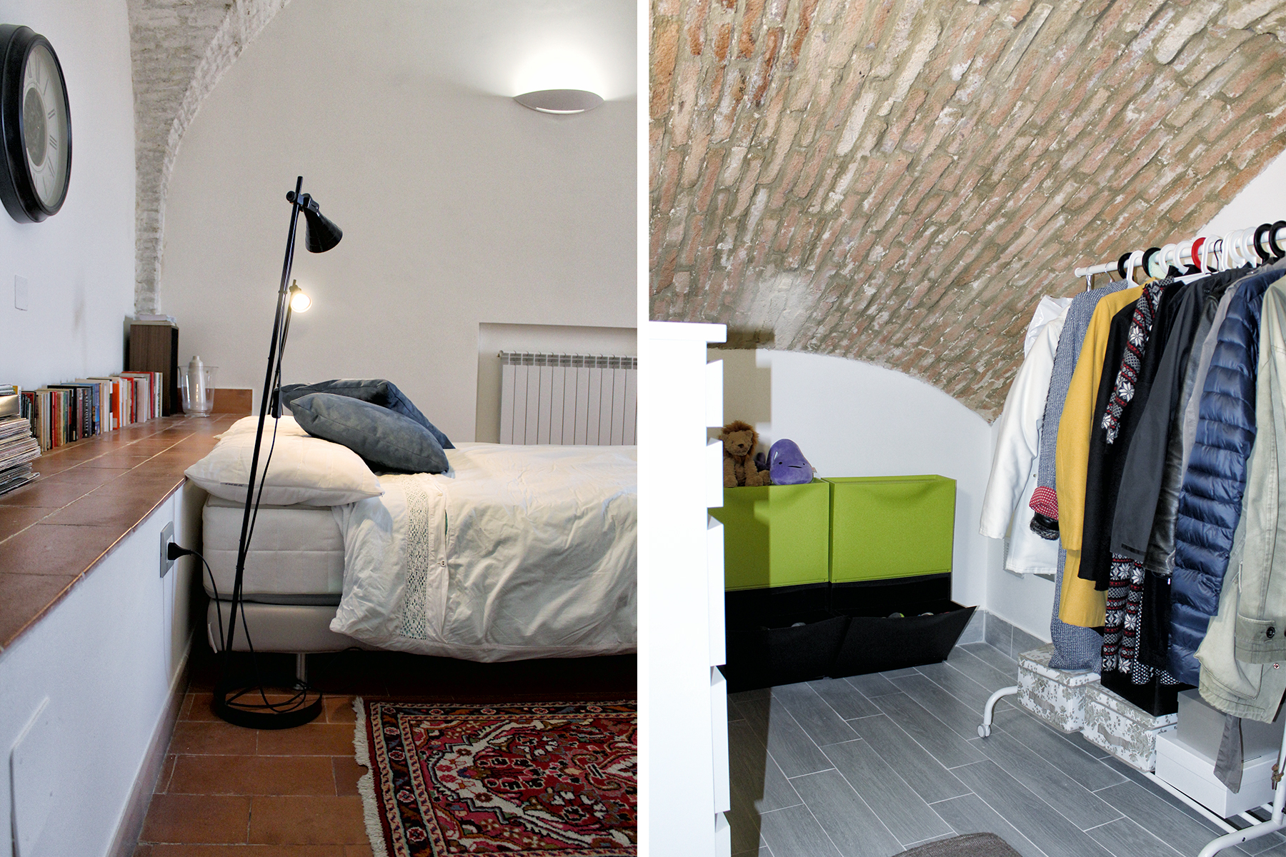 12 idee per ricavare una cabina armadio in camera da letto for Case in stile cabina